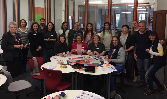 June 9, 2017 Origami workshop at Kincoppal - Rose Bay School