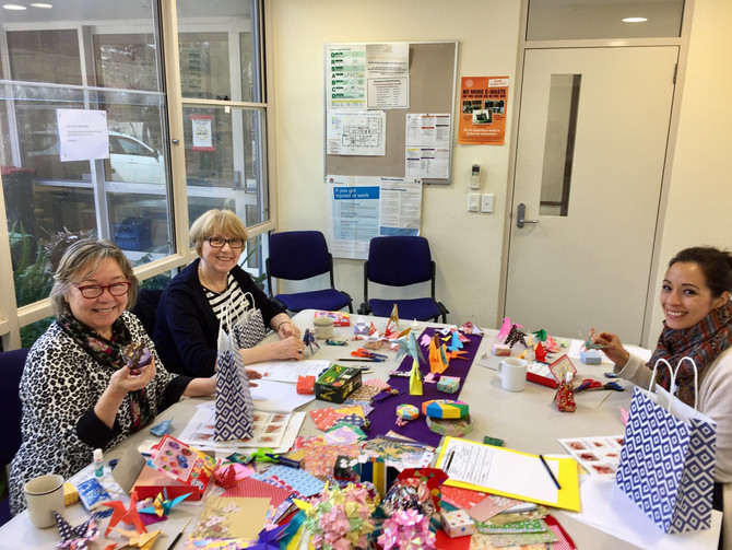 North Sydney Community Centre-4 hours Origami Class, 27th August Sunday