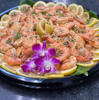 Garlic Shrimp Party Platter