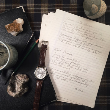 Time Is For Writing