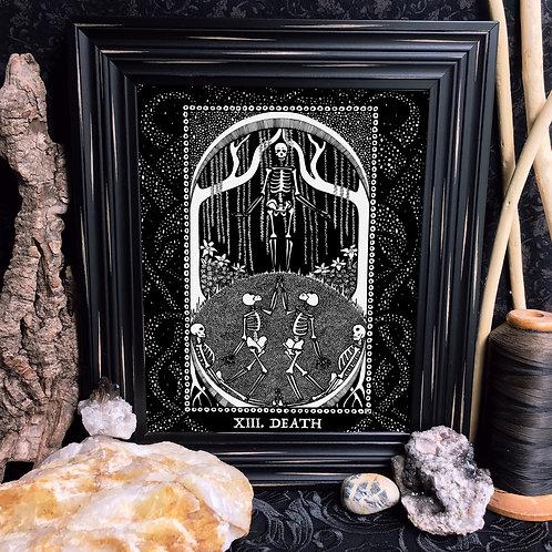 Spirit Vertigo Tarot Death Fine Giclée Print