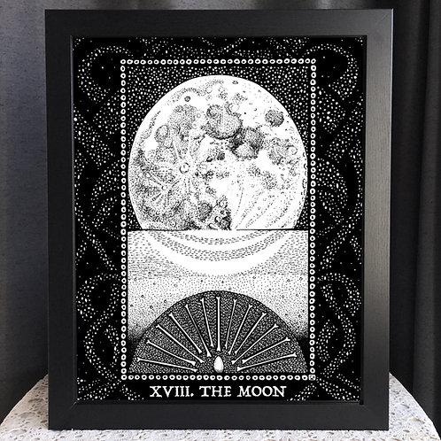 """Spirit Vertigo Tarot Moon 16x20"""" Poster"""