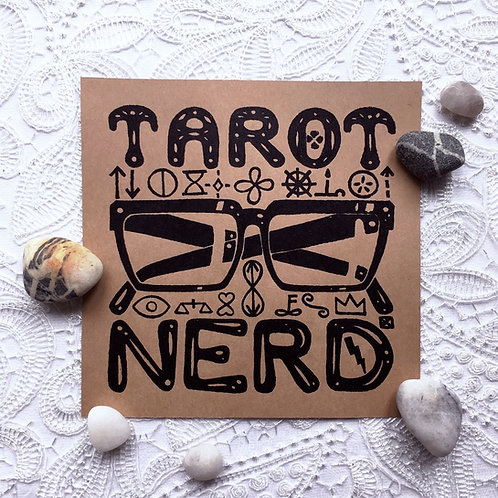 Tarot Nerd Screen Print