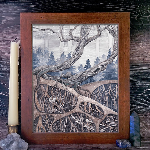 The Roots That Drank Our Bones Fine Giclée Print