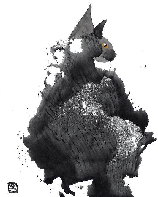 Ash Critter-Blot Sketch