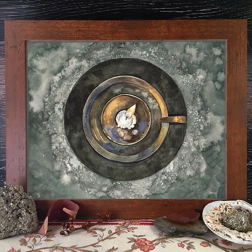 Salt Circle Fine Giclée Print