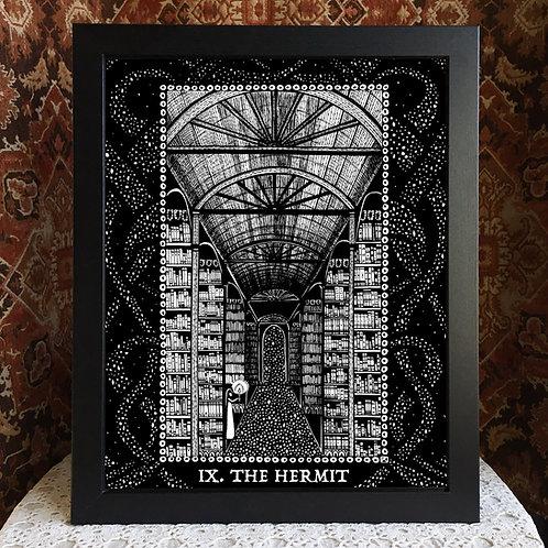"Spirit Vertigo Tarot Hermit  16x20"" Poster"