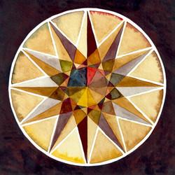 Ochre Qunicunx Wheel