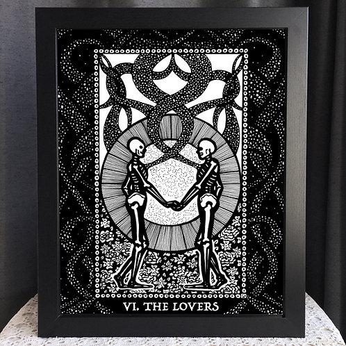 "Spirit Vertigo Tarot Lovers 16x20"" Poster"