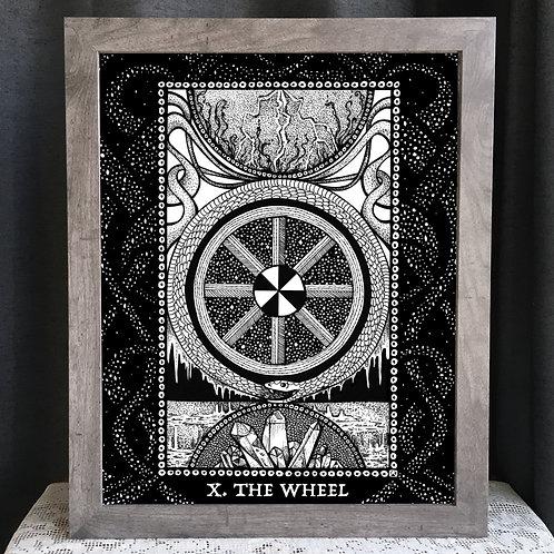 """Spirit Vertigo Tarot Wheel 16x20"""" Poster"""