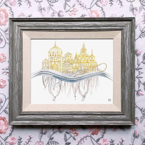 Embroidery Fine Giclée Print