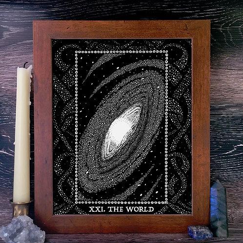 Spirit Vertigo Tarot World Fine Giclée Print