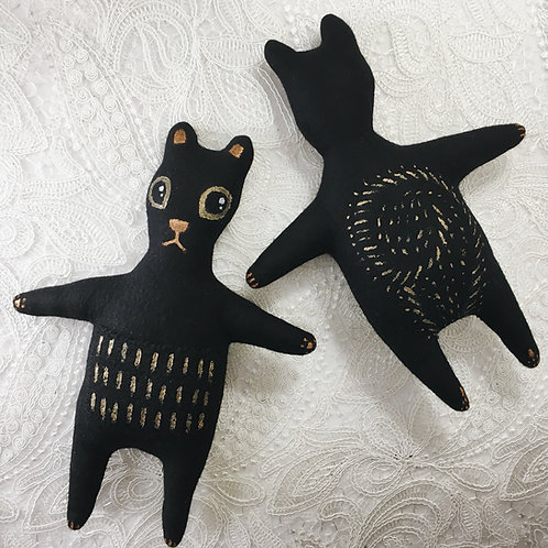 Black Squirrel Stitchy Pocket Doll