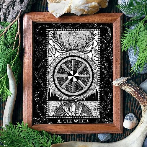 Spirit Vertigo Tarot Wheel Fine Giclée Print