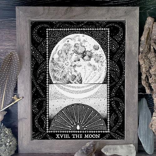Spirit Vertigo Tarot Moon Fine Giclée Print