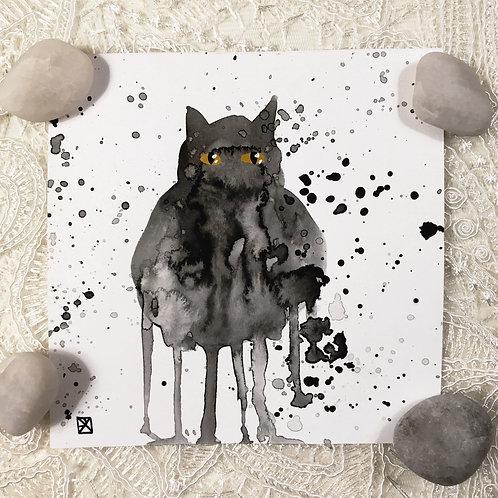 Moose Critter-Blot Sketch