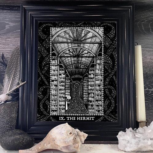 Spirit Vertigo Tarot Hermit Fine Giclée Print