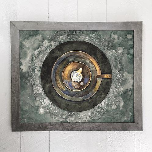"""Salt Circle 16x20"""" Poster"""