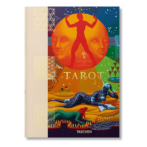 Photograph: book cover of TAROT, published by Taschen.