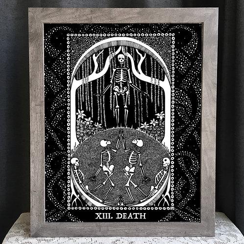 """Spirit Vertigo Tarot Death 16x20"""" Poster"""