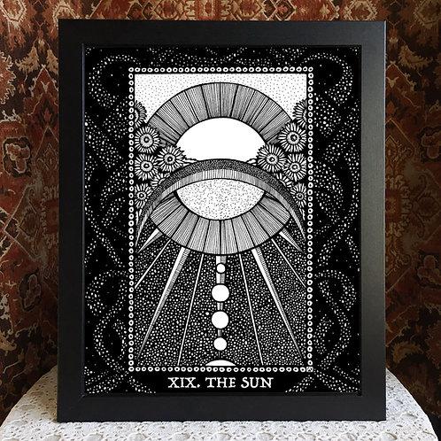 """Spirit Vertigo Tarot Sun 16x20"""" Poster"""