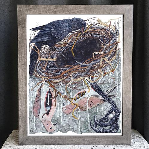 "Crow's Nest 16x20"" Poster"