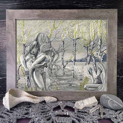 Brinewives, Washing Hearts Fine Giclée Print