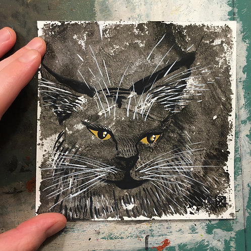 Rabbity Critter-Blot Sketch