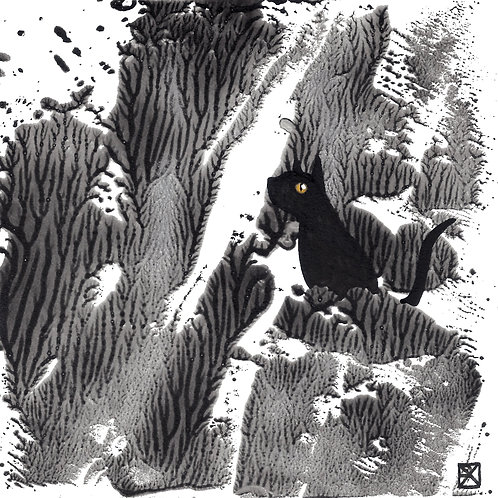 Charlie Critter-Blot Sketch