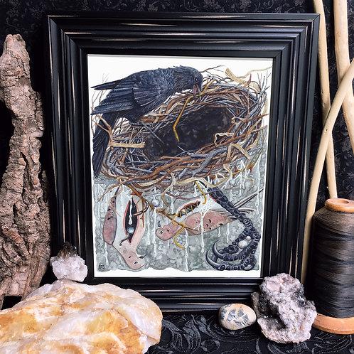 Crow's Nest Fine Giclée Print