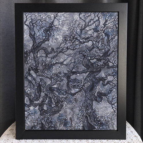 """Slow Dance With Fungal Blooms 16x20"""" Poster"""