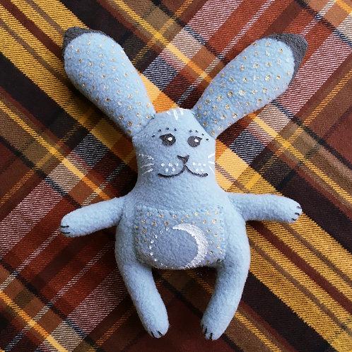 Lunar Bun Stitchy Pocket Doll