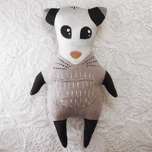 Opossum Stitchy Pocket Doll