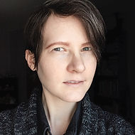 Photograph: selfie of Massachusetts artist Evvie Marin