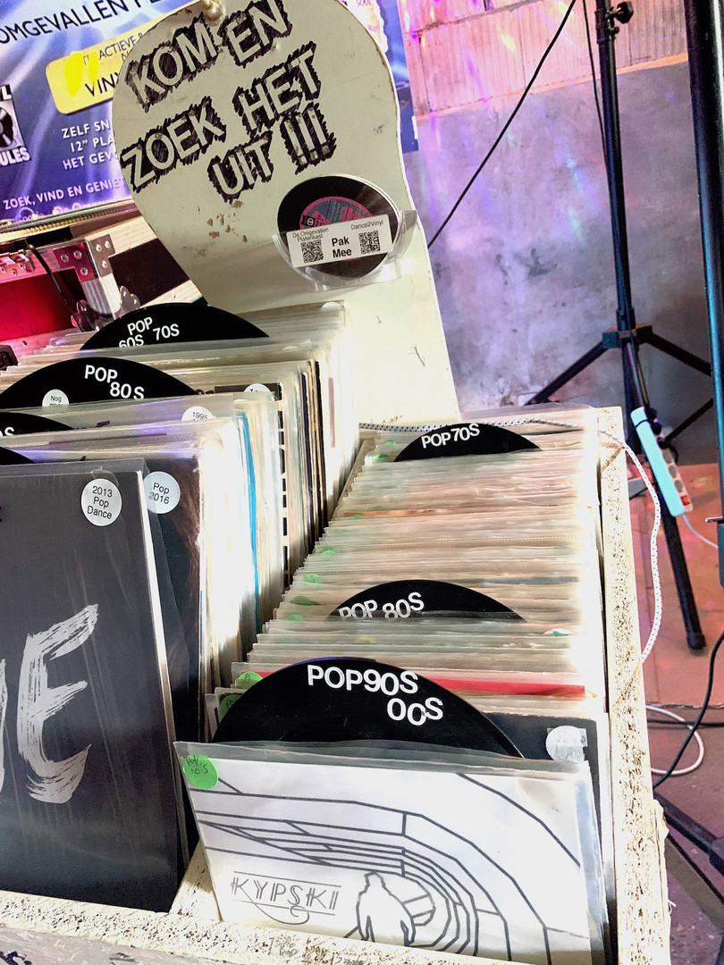 Vinyl collectie van De Omgevallen Platenkast / Dance2Vinyl