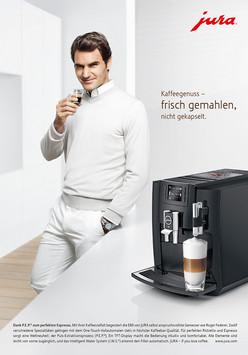 Roger Federer for Jura