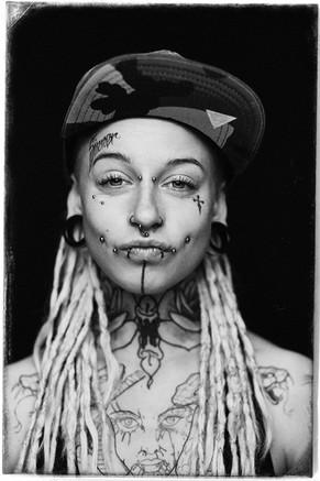 Pin Up Style Tattoo