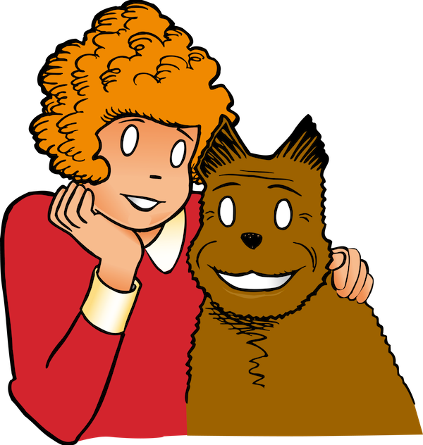Orphan Annie and Sandy