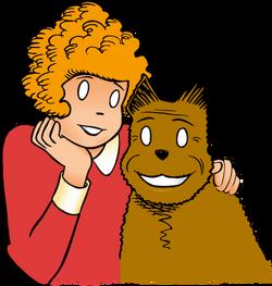 Orphan Annie and Sandy