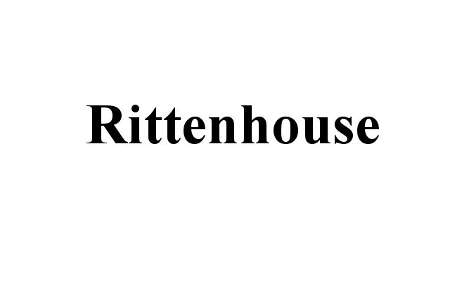 The Rittenhouse Connection