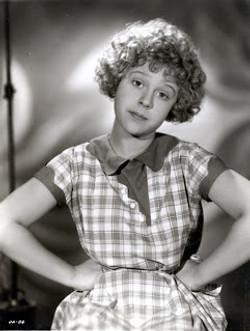 Mitzi Green star of 1932 LOA