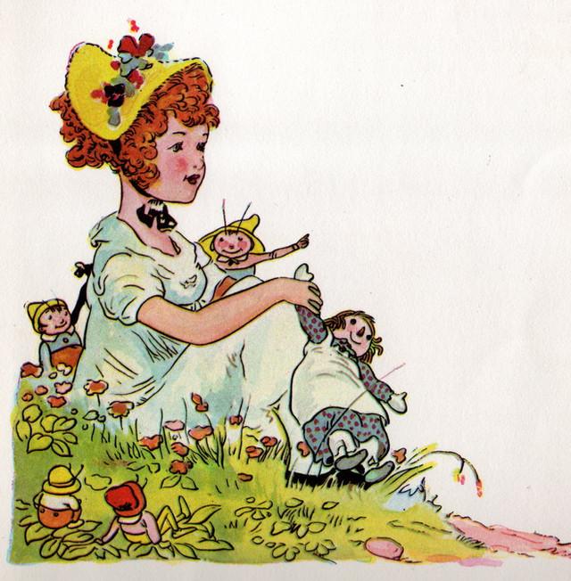 Raggedy Ann and Little Orphan Annie