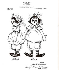 Raggedy Ann Patent
