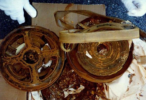 Disintegrating Nitrate Film