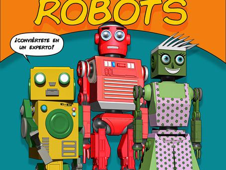 APRENDE A DIBUJAR ROBOTS.