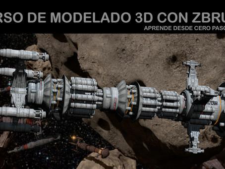 Ya disponible nuestro curso de modelado 3D