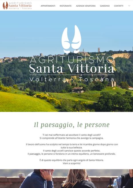 Agriturismo Santa Vittoria - Volterra - Anno 2019