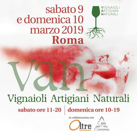 Vignaioli Artigiani Naturali - Roma - Anno 2019