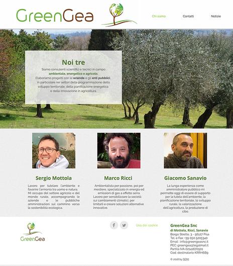 GreenGea Snc - Pisa - Anno 2019