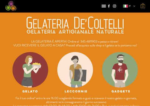 Gelateria De' Coltelli - Pisa - Anno 2020